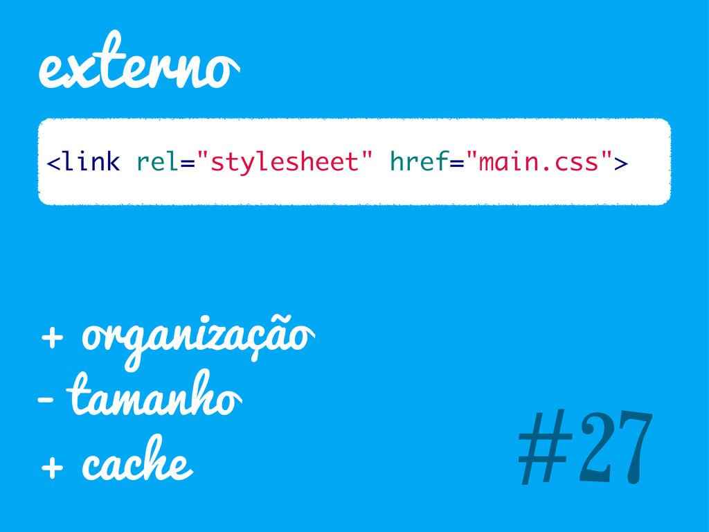 "externo #27 <link rel=""stylesheet"" href=""main.c..."