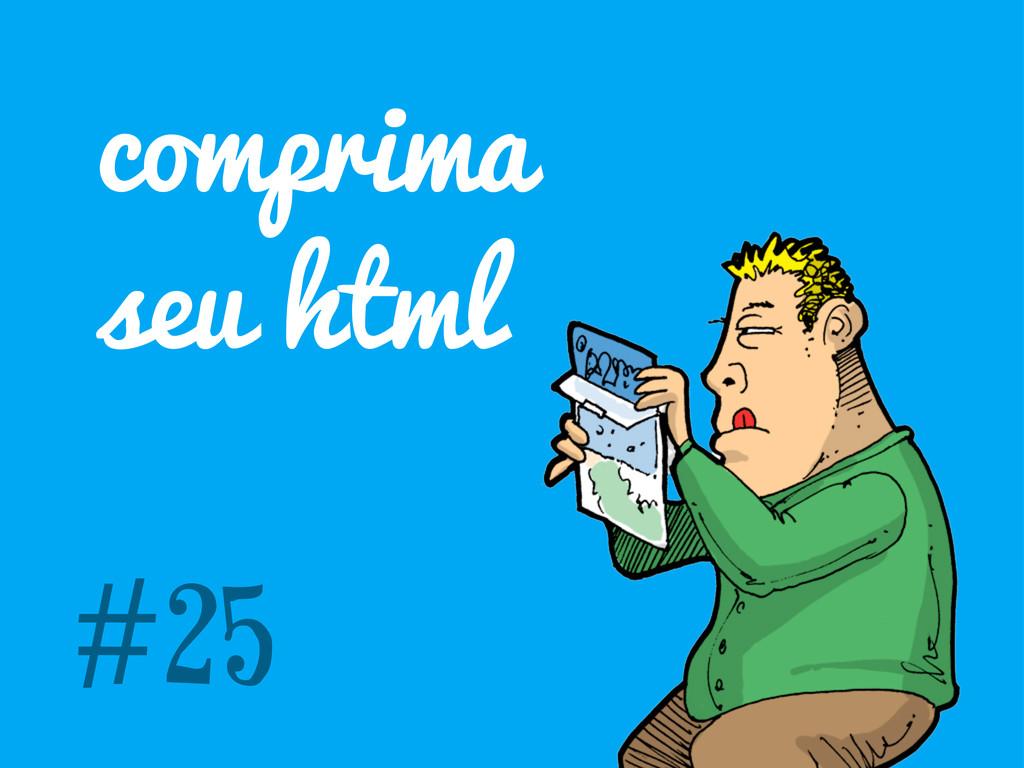comprima seu html #25