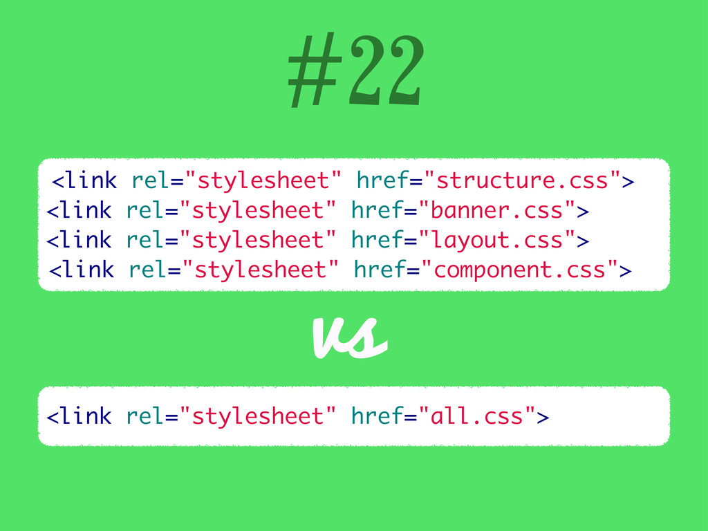 "#22 <link rel=""stylesheet"" href=""structure.css""..."