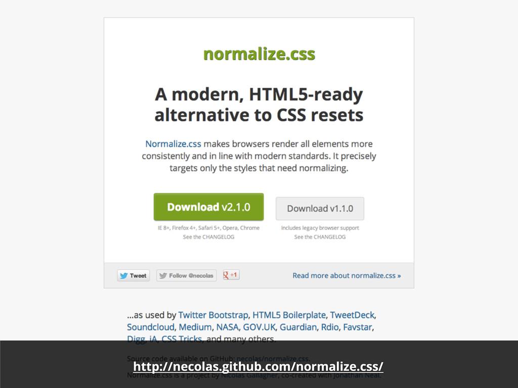 http://necolas.github.com/normalize.css/