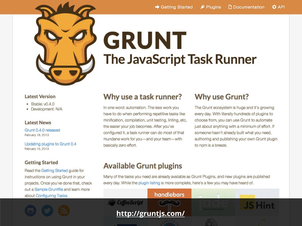 http://gruntjs.com/