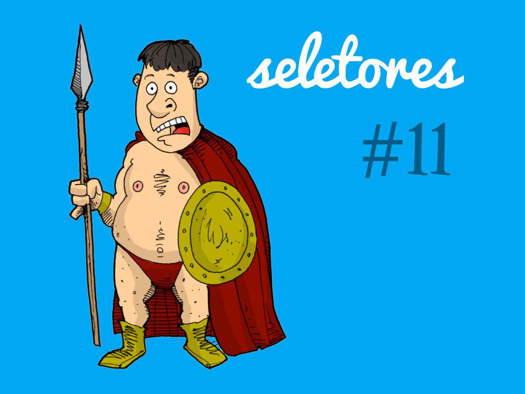 seletores #11