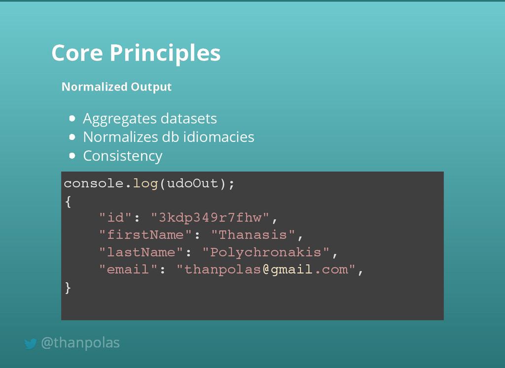 Core Principles Core Principles Normalized Outp...