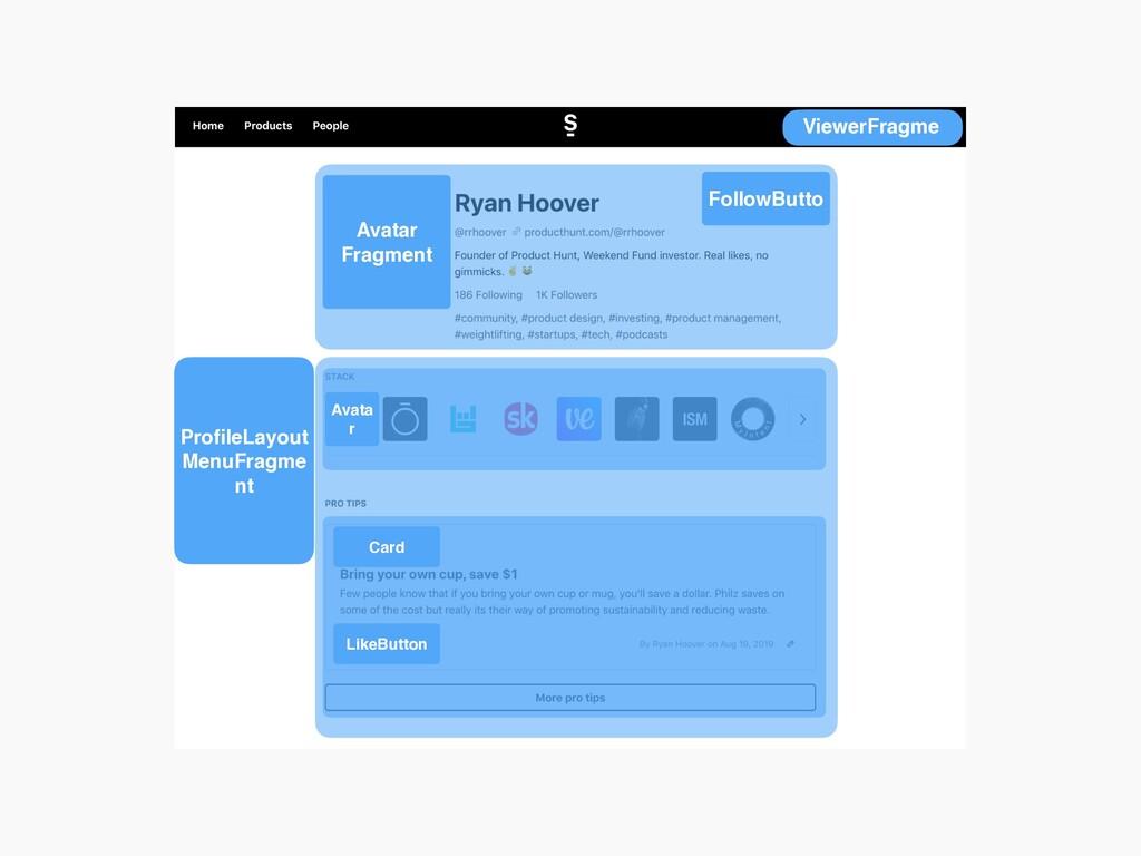 ViewerFragme ProfileLayout MenuFragme nt FollowB...