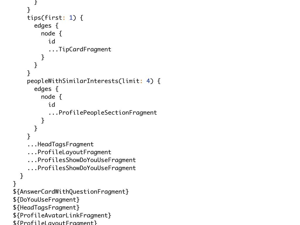 } } tips(first: 1) { edges { node { id ...TipCa...