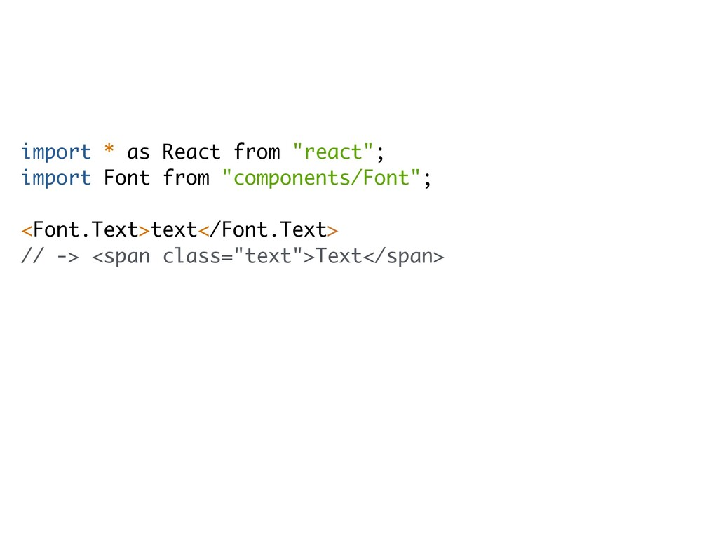 """import * as React from """"react""""; import Font fro..."""