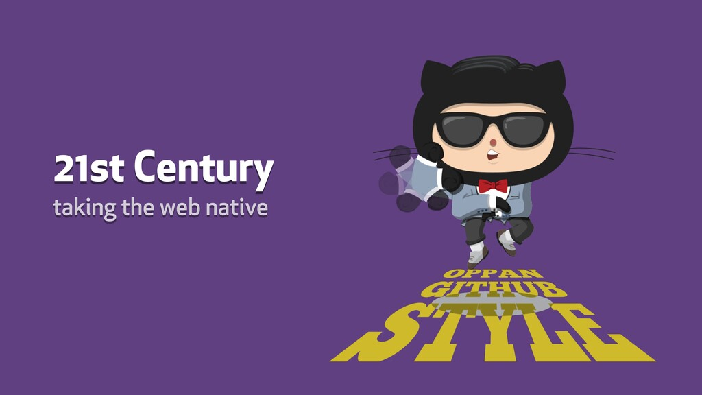 21st Century taking the web native