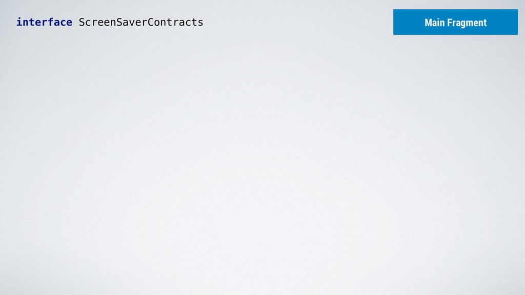 interface ScreenSaverContracts