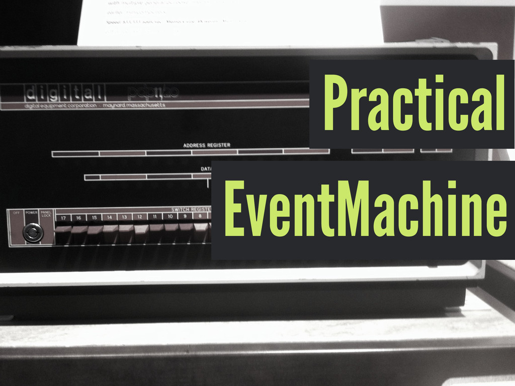 Practical EventMachine