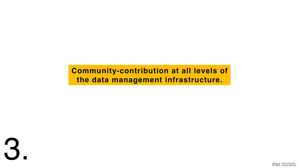 Community-contribution at all levels of the dat...