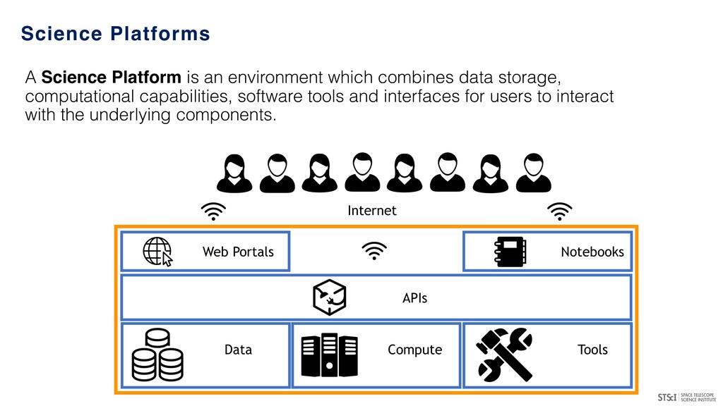 Science Platforms Data Tools Compute APIs Web P...