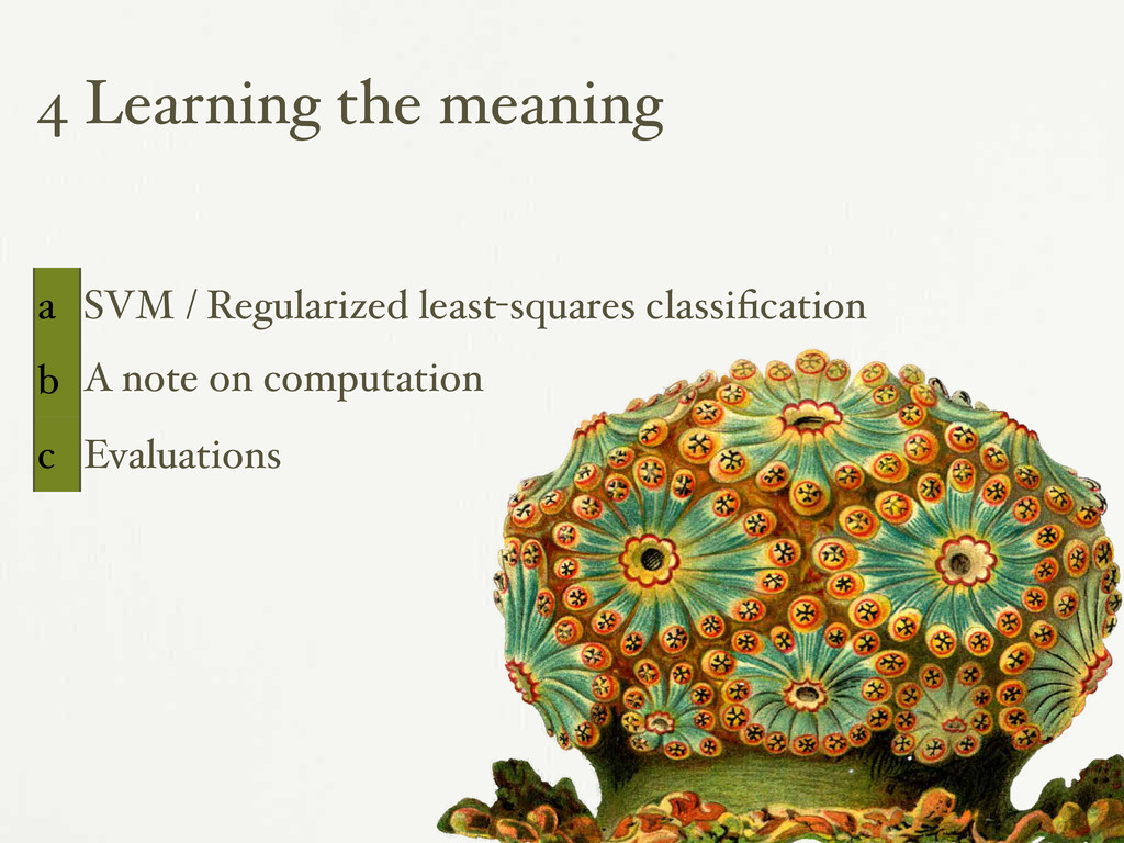 4 Learning the meaning a SVM / Regularized leas...