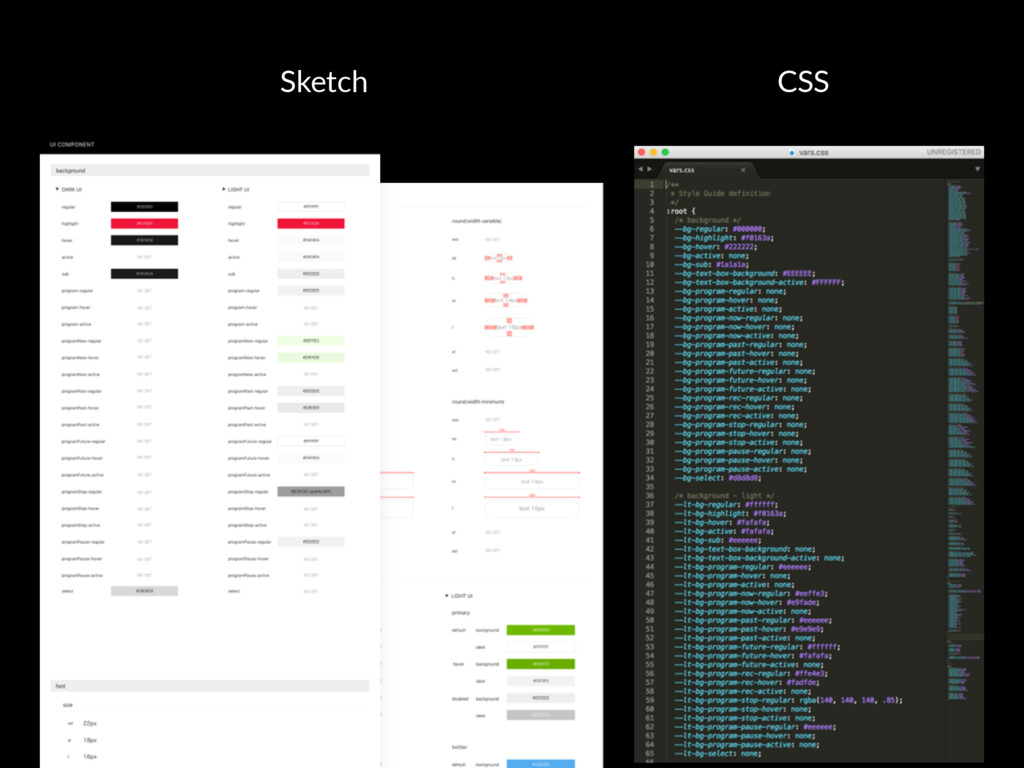 Sketch CSS
