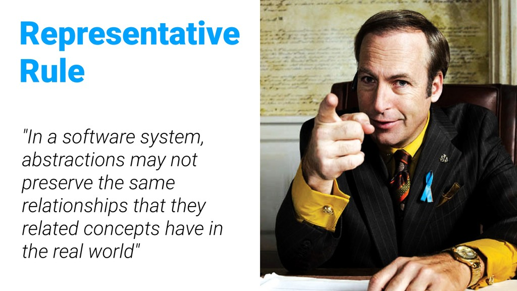 """""""In a software system, abstractions may not pre..."""