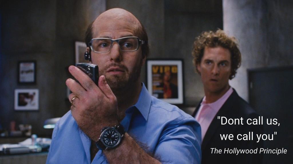 """Dont call us, we call you"" The Hollywood Princ..."