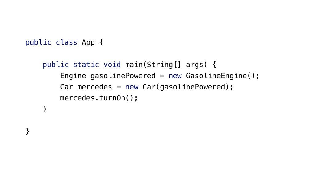 public class App { public static void main(Stri...