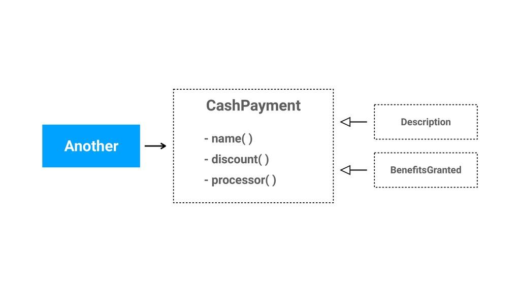 CashPayment Another Description BenefitsGranted ...