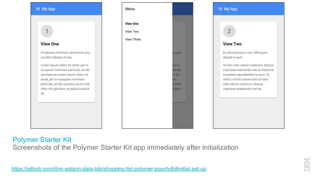 Polymer Starter Kit Screenshots of the Polymer ...