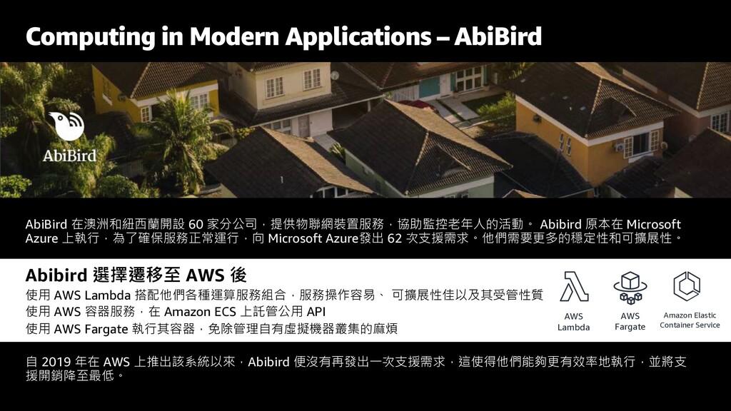 Computing in Modern Applications – AbiBird AbiB...