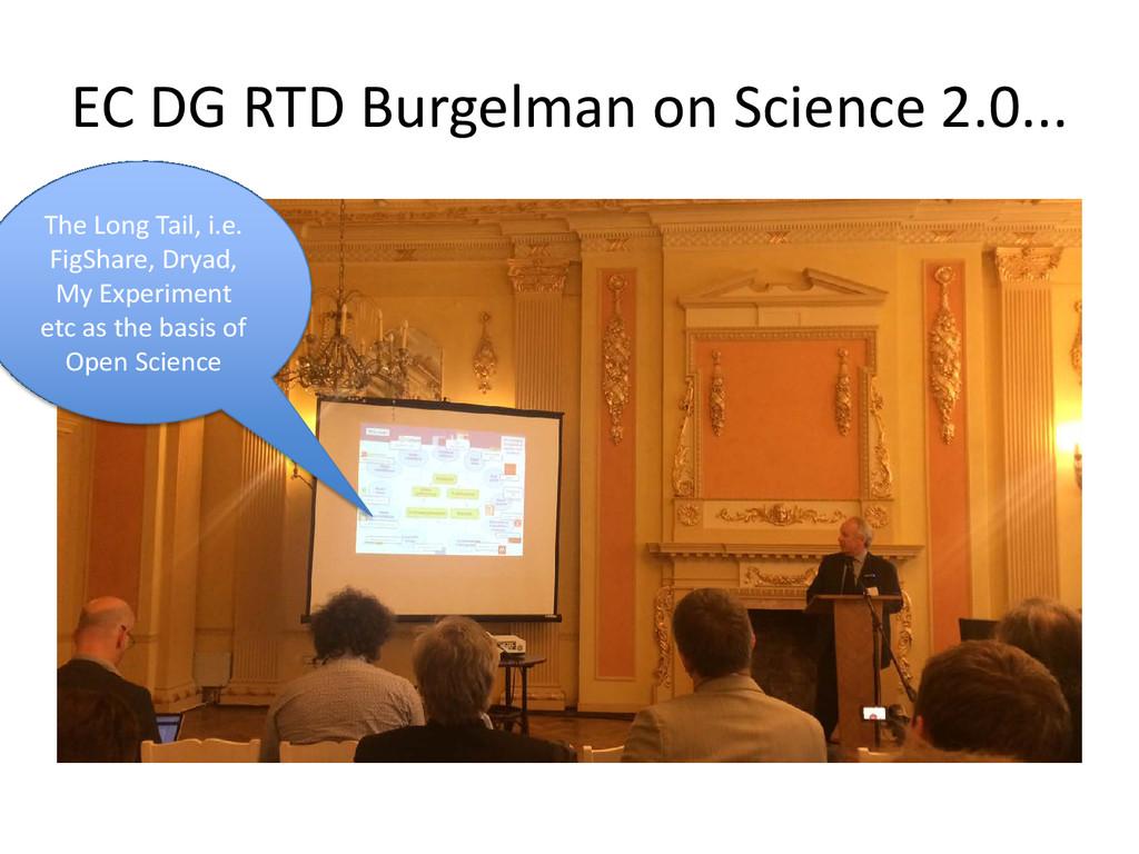 EC DG RTD Burgelman on Science 2.0... The Long ...