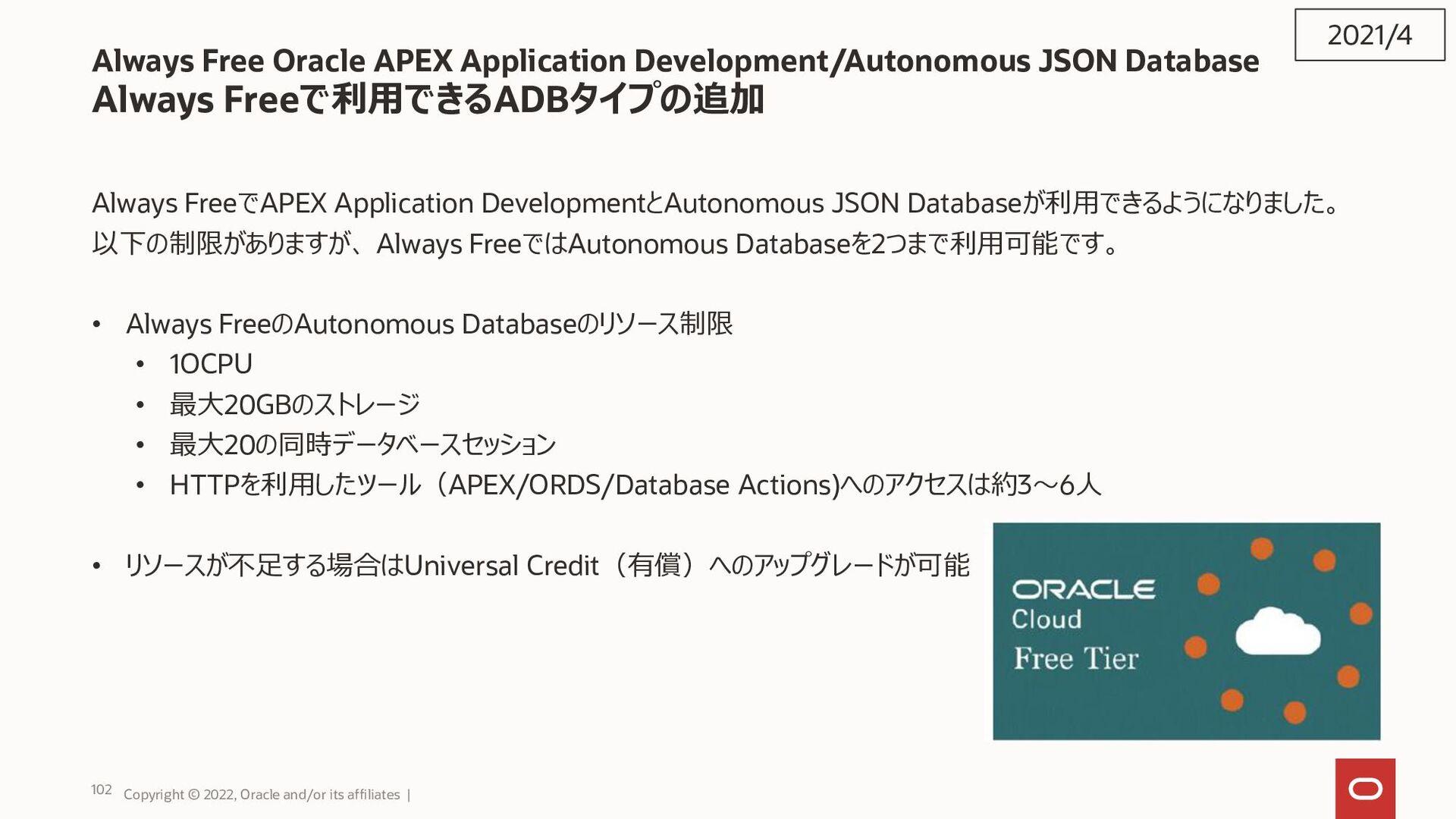 初期化パラメータ:MAX_STRING_SIZE • VARCHAR2型、NVARCHAR2型...