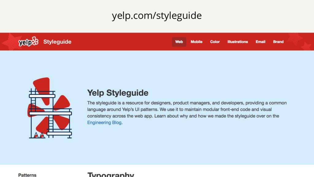 yelp.com/styleguide