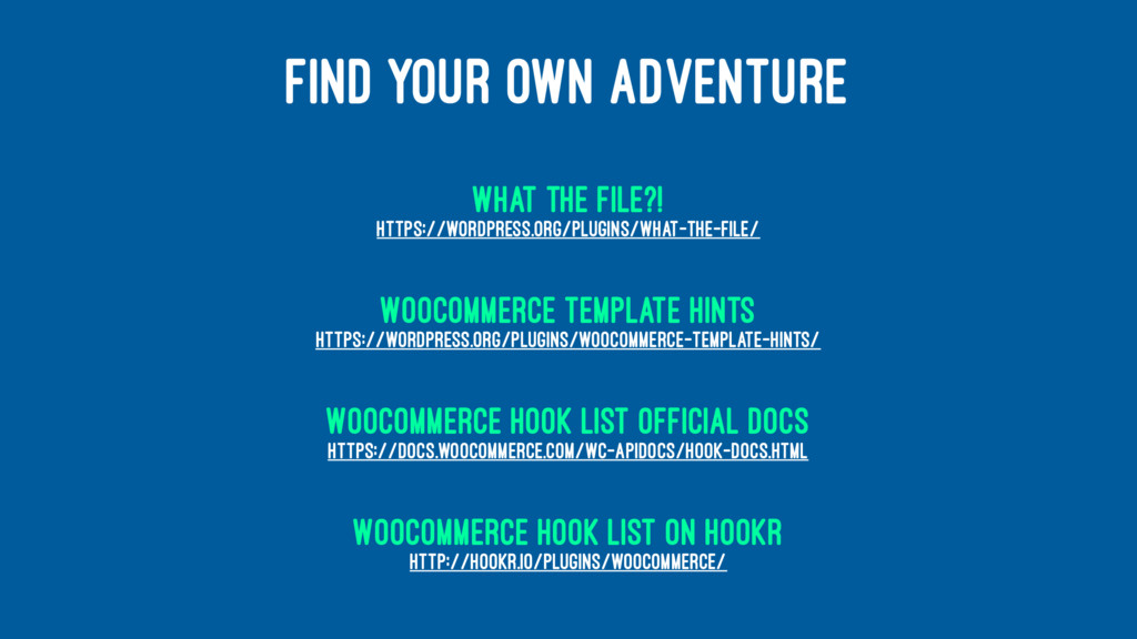 FIND YOUR OWN ADVENTURE What the File?! https:/...