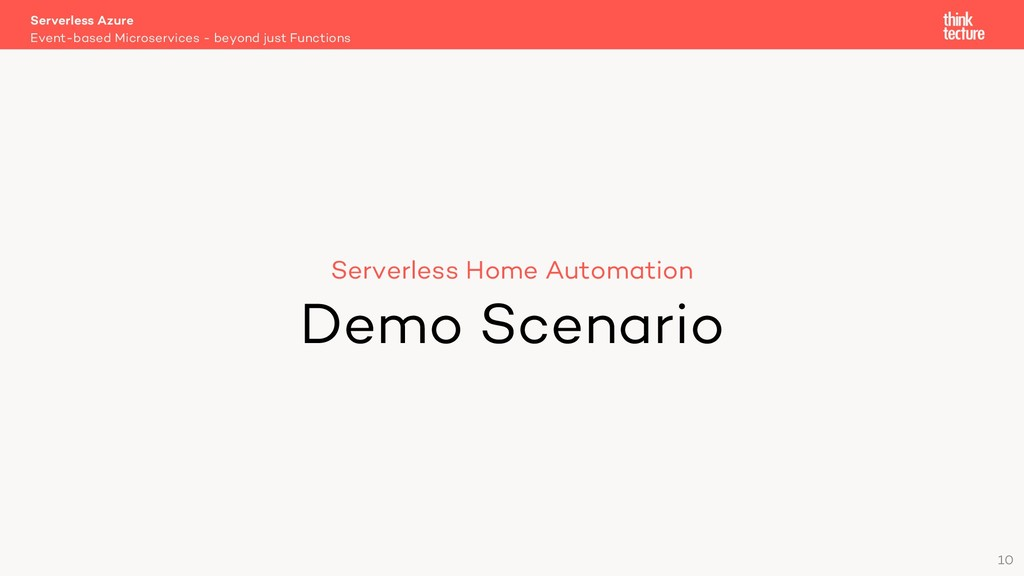 10 Serverless Home Automation Demo Scenario Eve...