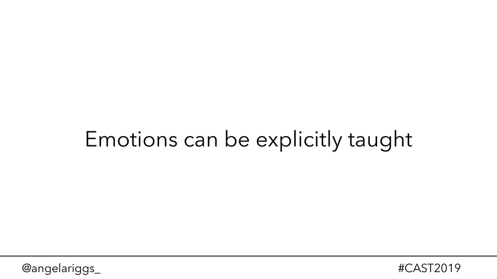@angelariggs_ #CAST2019 Emotions can be explici...