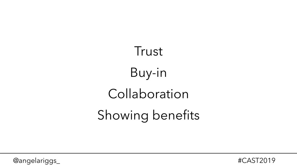 @angelariggs_ #CAST2019 Trust Buy-in Collaborat...