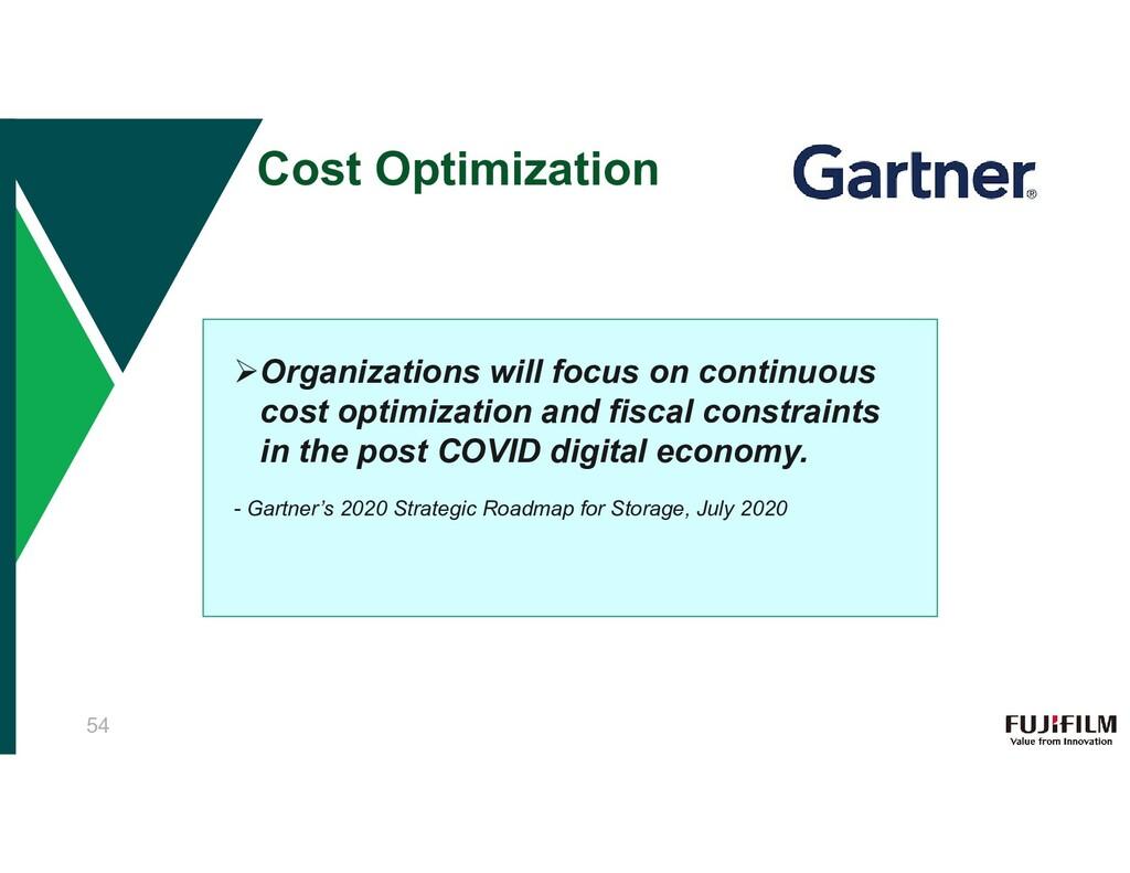 Cost Optimization Organizations will focus on ...