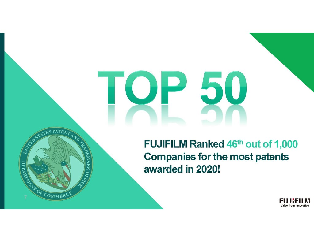 FUJIFILM Ranked 46th out of 1,000 Companies for...