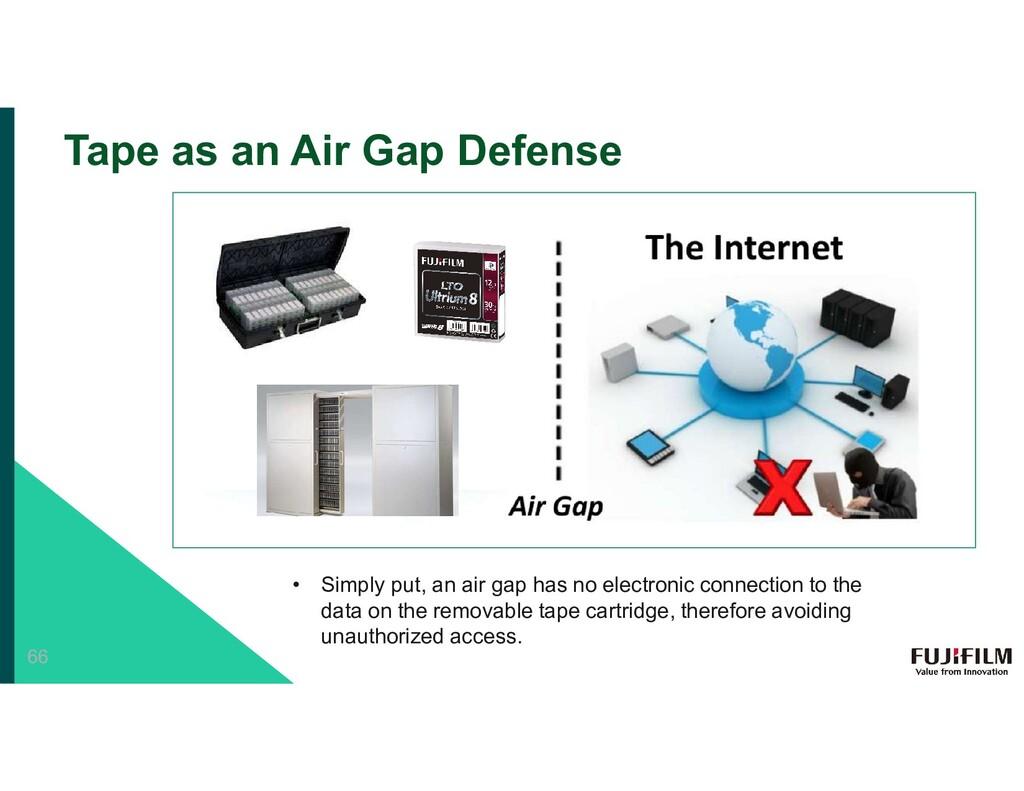 Tape as an Air Gap Defense • Simply put, an air...