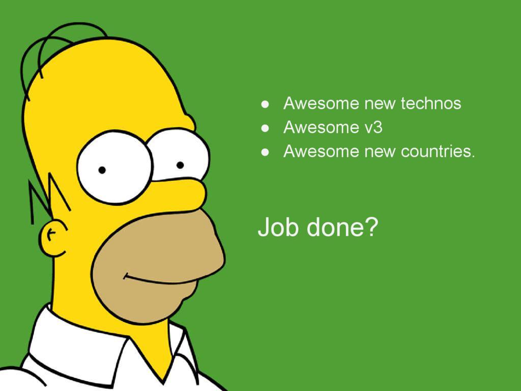 ● Awesome new technos ● Awesome v3 ● Awesome ne...