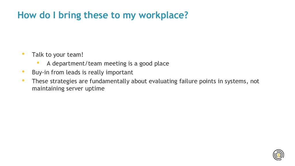 How do I bring these to my workplace? • Talk to...