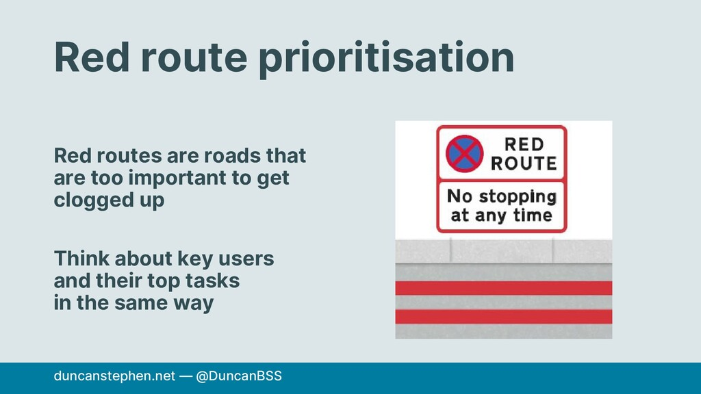 Red route prioritisation Red routes are roads t...