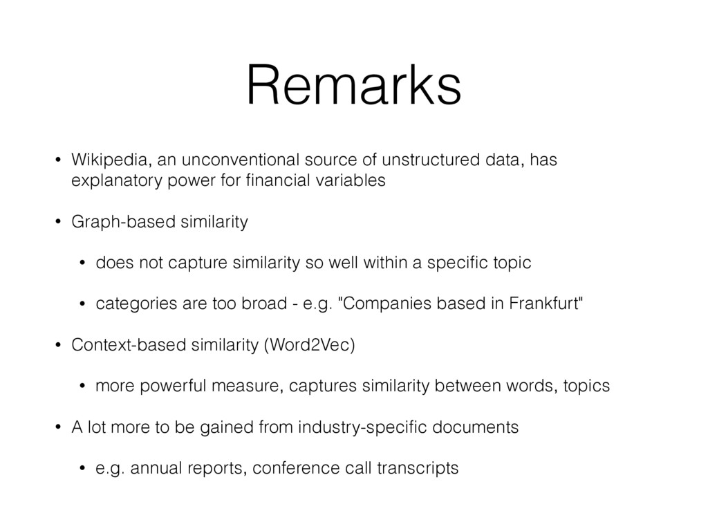 Remarks • Wikipedia, an unconventional source o...