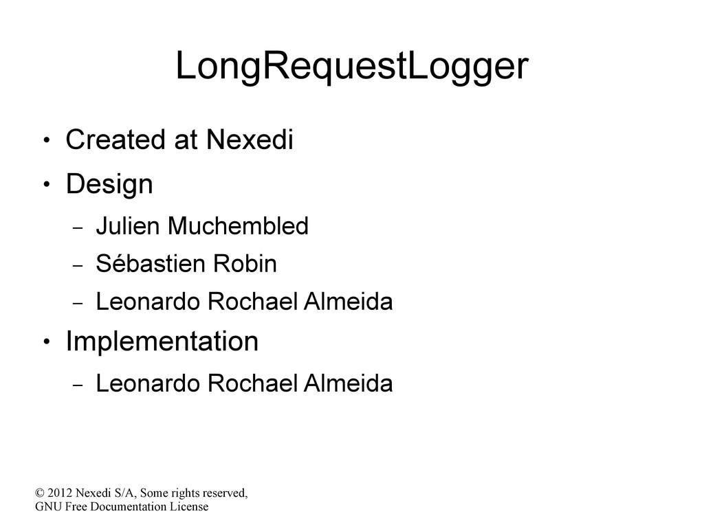 © 2012 Nexedi S/A, Some rights reserved, GNU Fr...