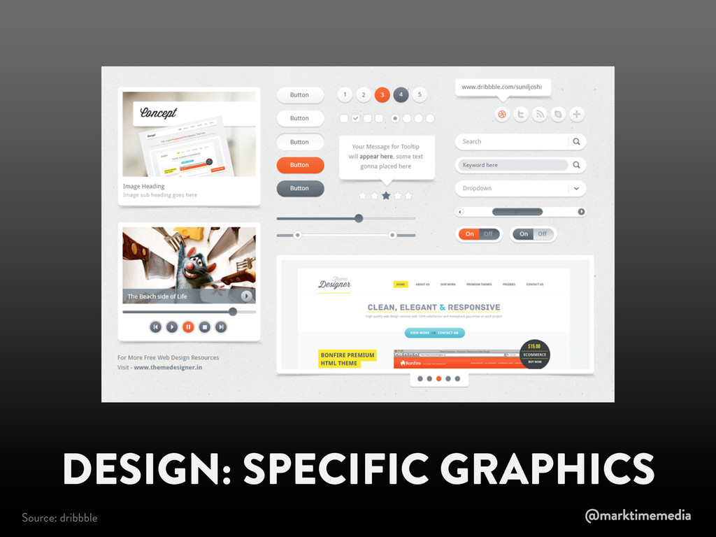 DESIGN: SPECIFIC GRAPHICS Source: dribbble @mar...