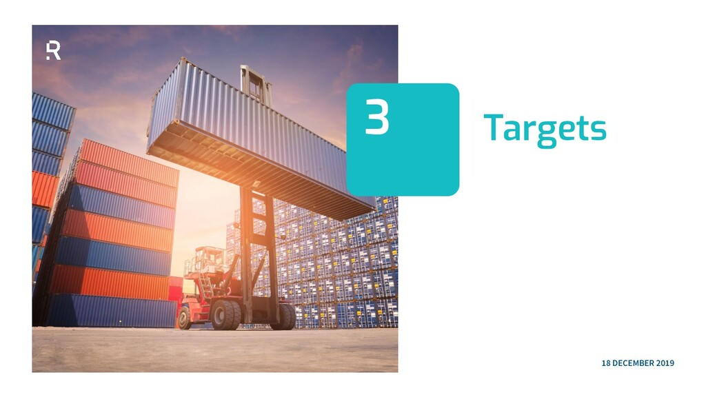 Targets 3 18 DECEMBER 2019