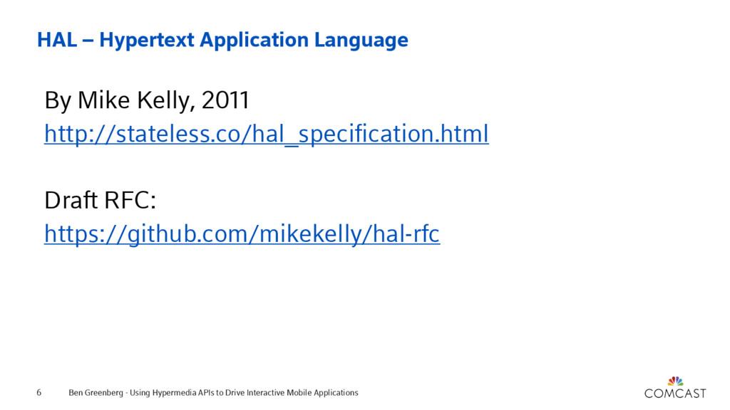 HAL – Hypertext Application Language By Mike Ke...