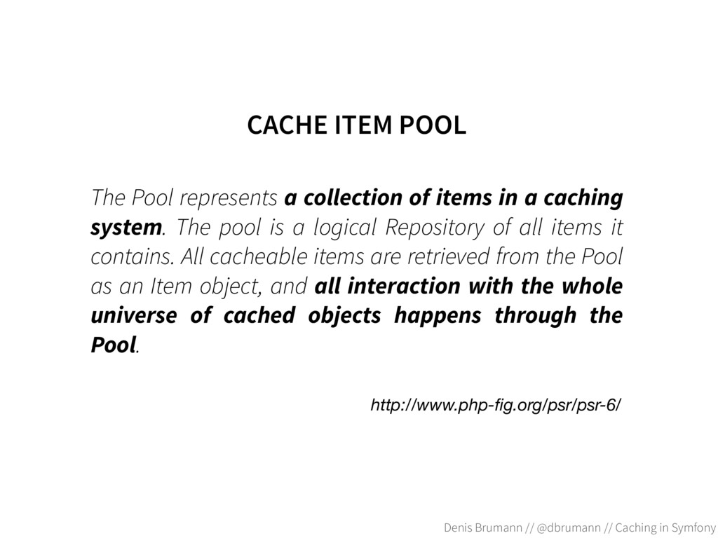 The Pool represents a collection of items in a ...