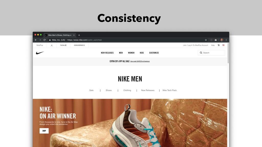 Consistency