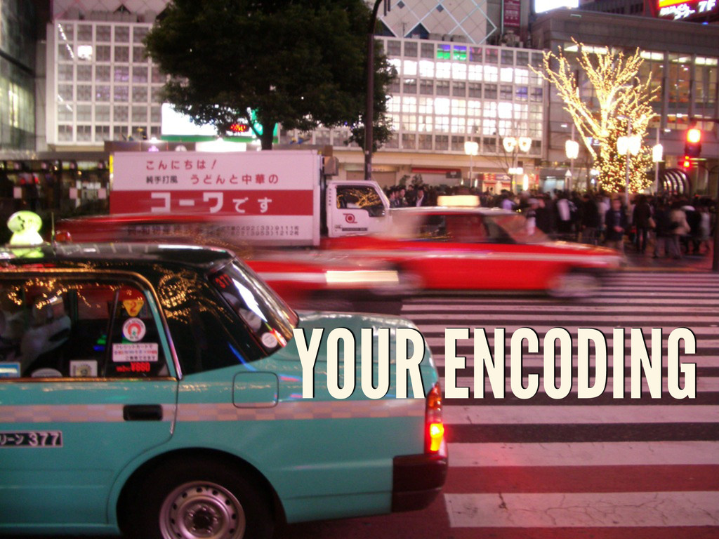 YOUR ENCODING