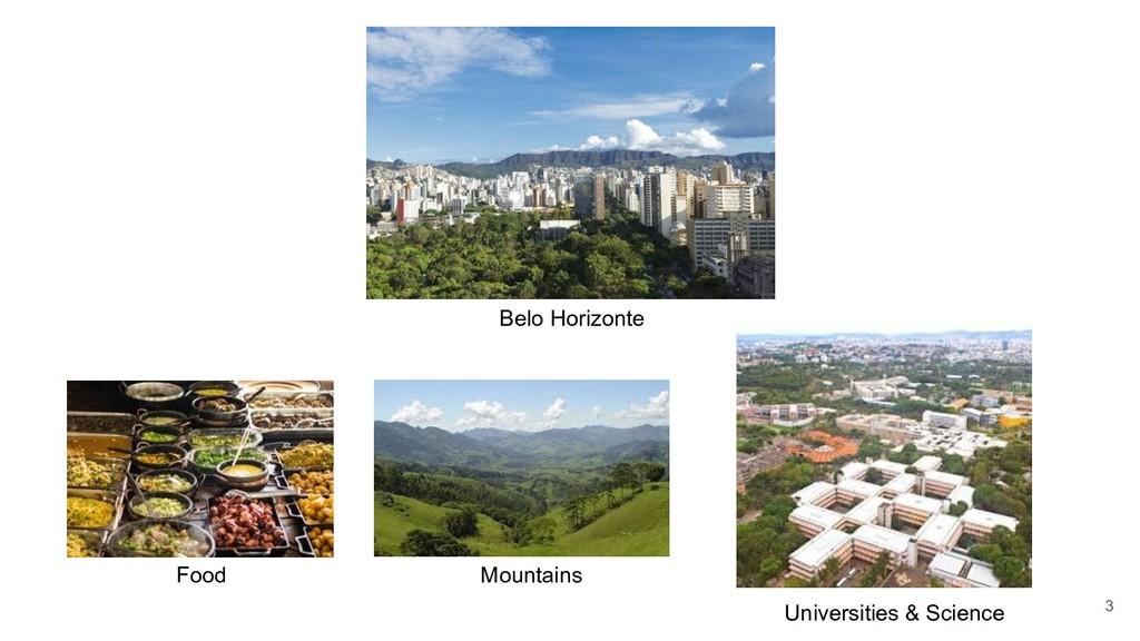 3 Food Mountains Universities & Science Belo Ho...