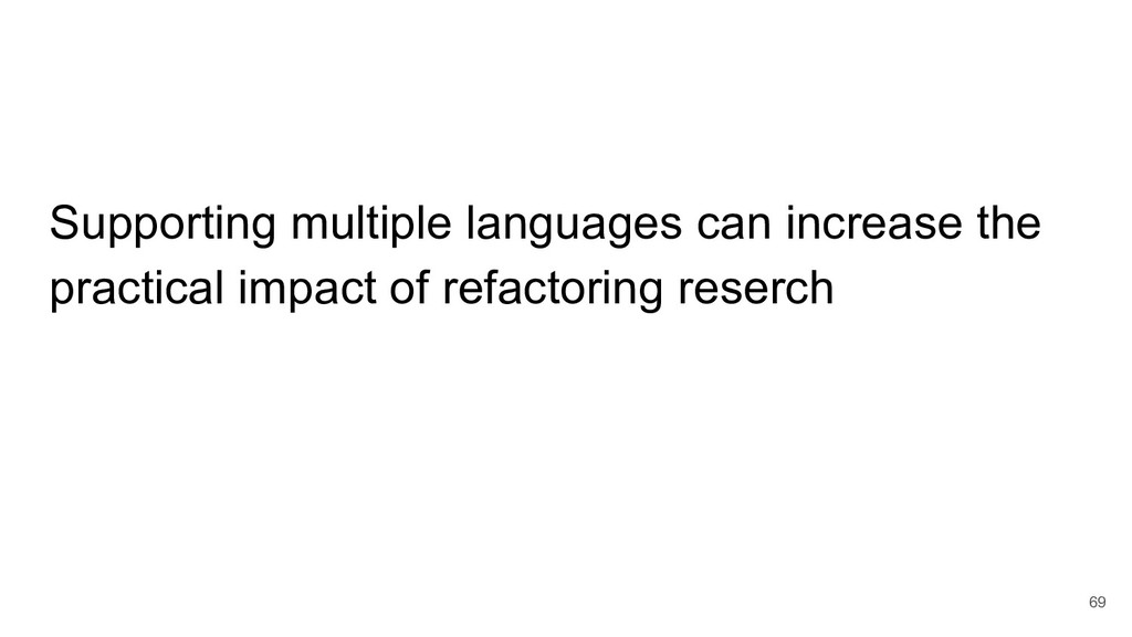 Supporting multiple languages can increase the ...