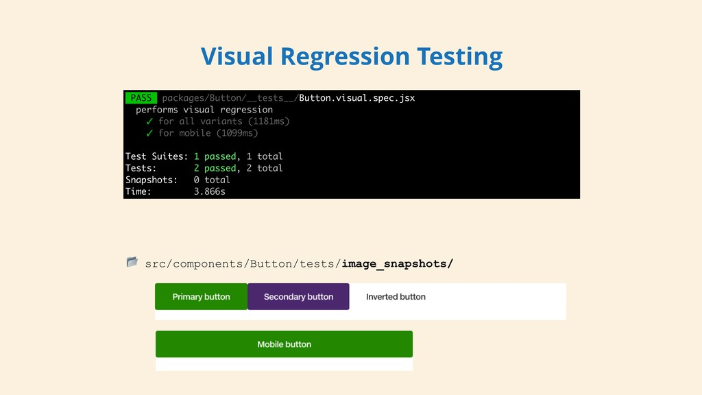PASS packages/Button/__tests__/Button.visual.sp...