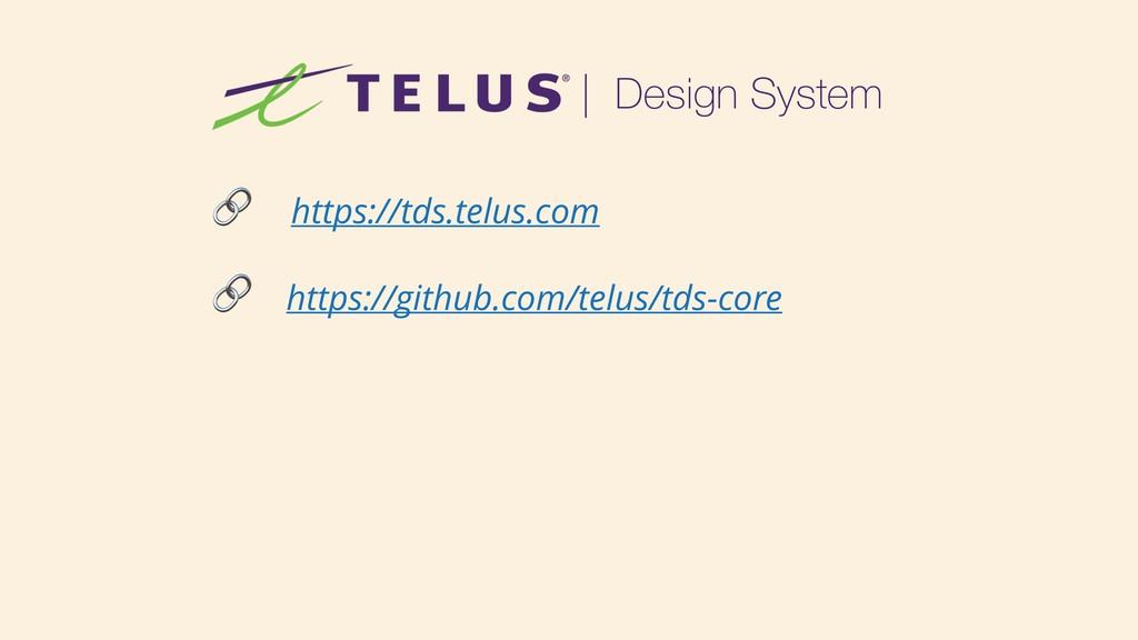 https://tds.telus.com  https://github.com/telu...