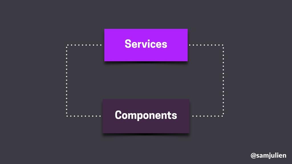 Services Components @samjulien