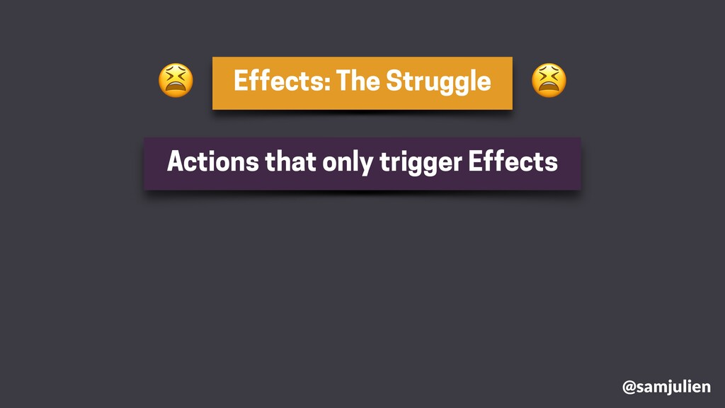 Effects: The Struggle @samjulien Actions that o...